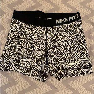 Nike pro spandex shorts medium